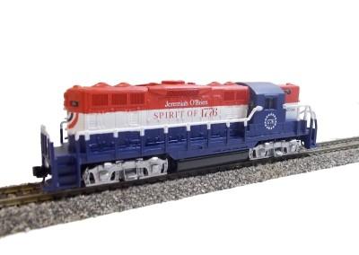 Motorisiertes und umdekoriertes Lionel-Modell