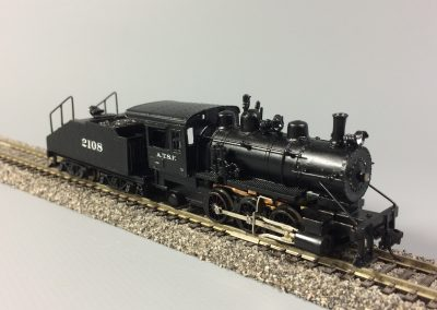 Steam Switcher 0-6-0 - ATSF 2108