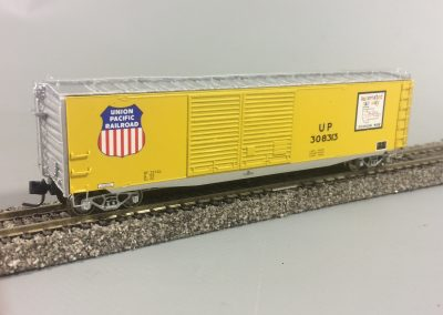 50ft Steel Boxcar - UP 308313