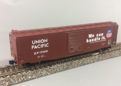 50ft Steel Boxcar - UP 171691