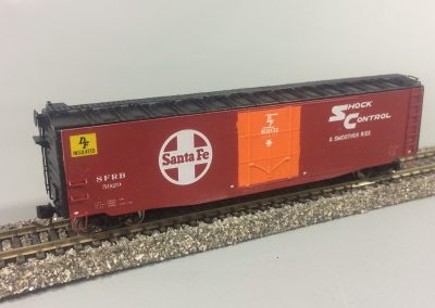 SFRB 5929 50ft Insulated Steel Boxcar