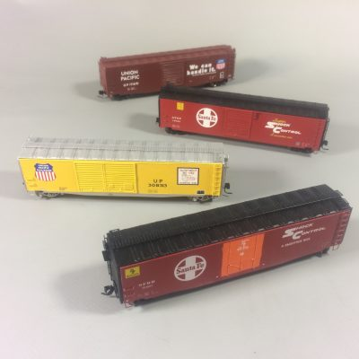 50ft Steel Boxcars